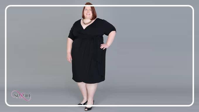 آشنایی با انواع لباس زنانه نخ پنبه سایز بزرگ