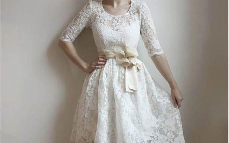 لباس بله برون سفید رنگ