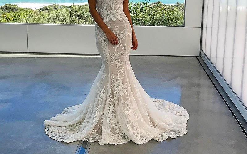 لباس عروس مدل ترومپت