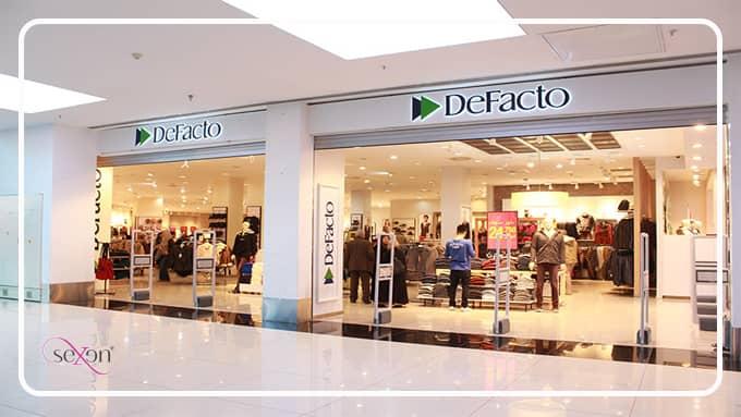 فروشگاه ورزشی برند دیفاکتو پوشاک ترکیه