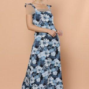 تونیک بلند زنانه آبی