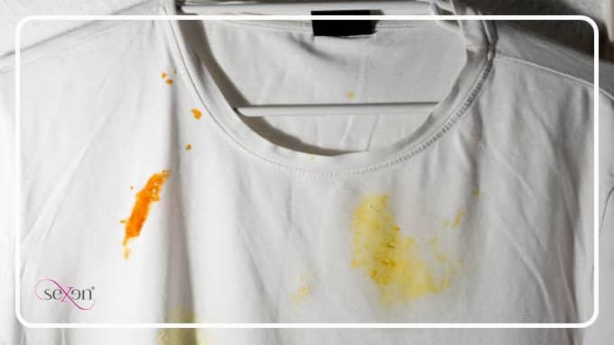 علت زرد شدن لباس سفید چیست؟