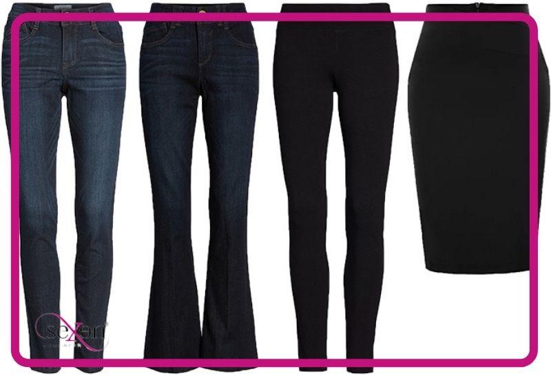 راهنمای خرید لباس برای زنان با اندام سیبی شکل