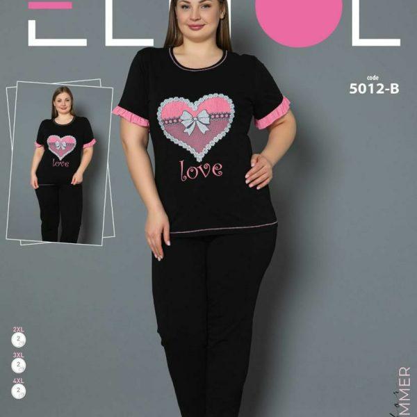 لباس سایز بزرگ زنانه کد5012-B
