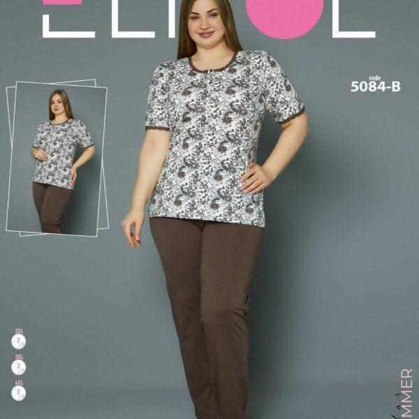 لباس سایز بزرگ زنانه کد5084-B