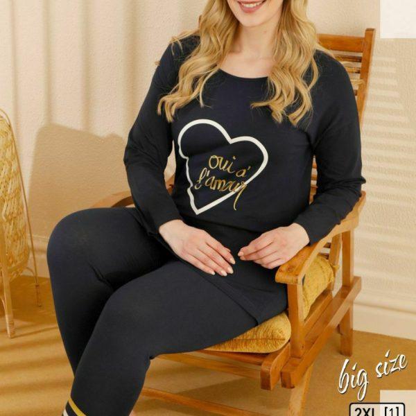 لباس سایز بزرگ زنانه سکسن کد65607