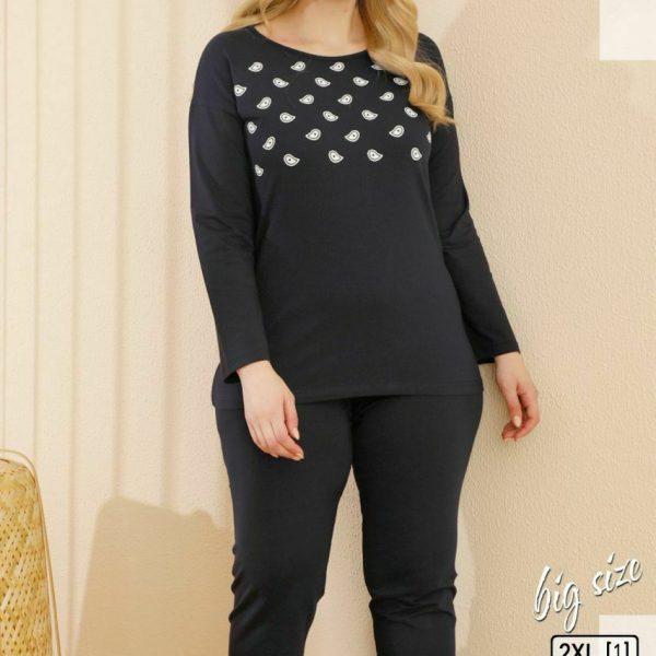 لباس سایز بزرگ زنانه سکسن کد65621