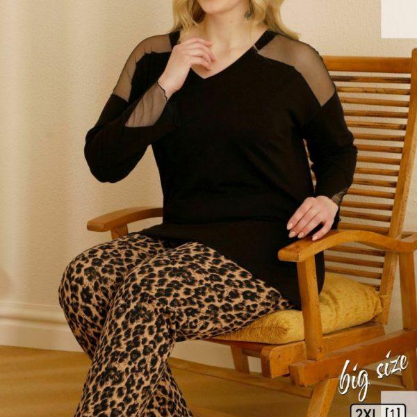 لباس سایز بزرگ زنانه سکسن کد65676