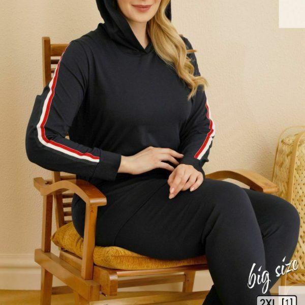 لباس سایز بزرگ زنانه سکسن کد65709