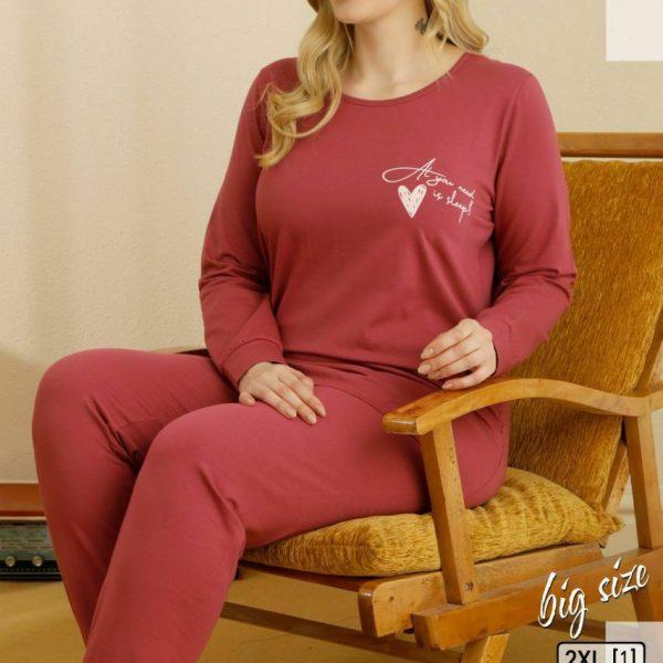 لباس سایز بزرگ زنانه سکسن کد 65801