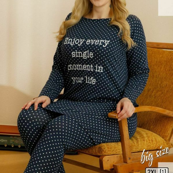 لباس سایز بزرگ زنانه سکسن کد 66513