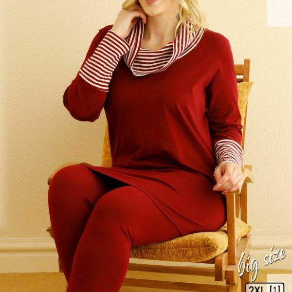 لباس سایز بزرگ زنانه سکسن کد 66545