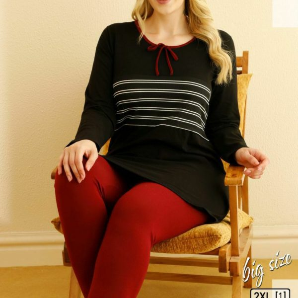 لباس سایز بزرگ زنانه سکسن کد 66556