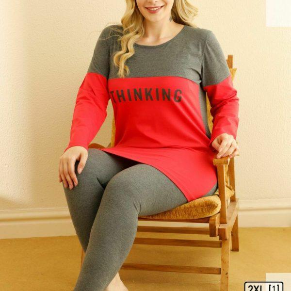 لباس سایز بزرگ زنانه سکسن کد 66651