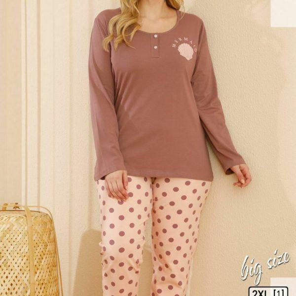 لباس سایز بزرگ زنانه سکسن کد65596