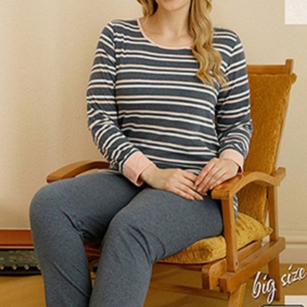 لباس سایز بزرگ زنانه سکسن کد 65736